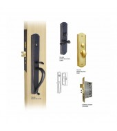 Double Hill Mortise Roland Door Handleset [MD9000-ROL/M]