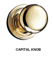 Double Hill Traditional Door Knob [DK20-CAP/D]